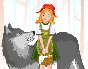 13242818-little-red-riding-hood-with-wolf